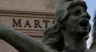 Detalle del Monumento a José Martí  en la Ciudad de Matanzas / Foto Alexis Rodríguez / Habana Radio
