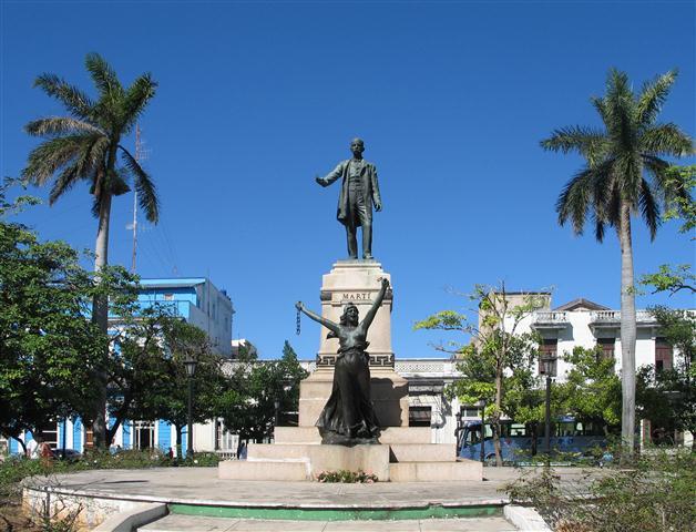 Monumento a José Martí en la ciudad de Matanzas / Foto Alexis Rodríguez / Habana Radio