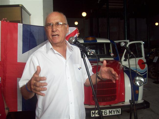 Tony Caccavone o Tony, el cubano como se le conoce