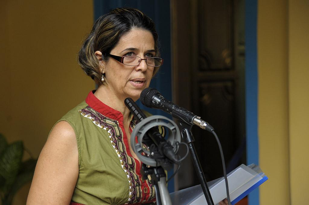 Lesbia Méndez, directora de Patrimonio
