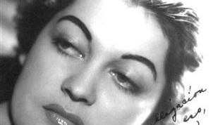 María de los Ángeles Santana en los tiempos de su debut en la radioemisora CMQ (Custom)