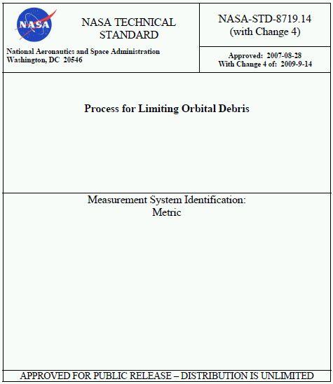 Norma  limitante NASA