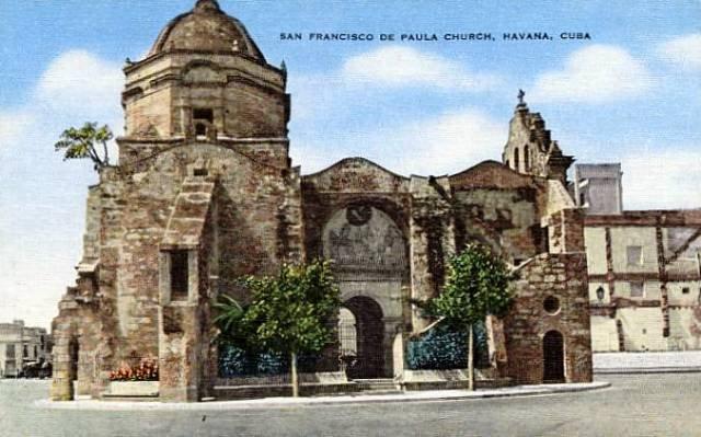 3-Iglesia de Paula, postal de la época