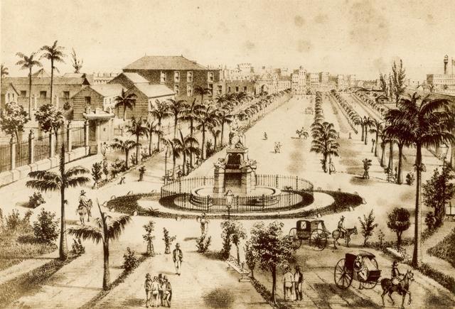Paseo del Prado, 1842 (Custom)
