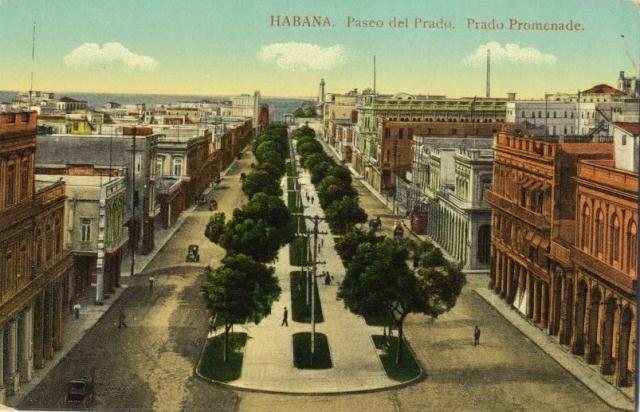 Paseo del Prado,principios del siglo XX (Custom)