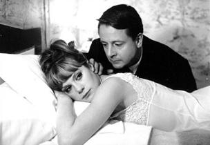 "Fotograma de ""La piel suave"" de François Truffaut"