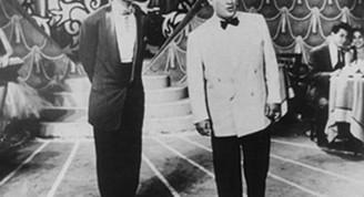 Pedro Vargas junto a Benny Moré