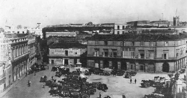 2-imagen antigua, antecedentes del edificio actual