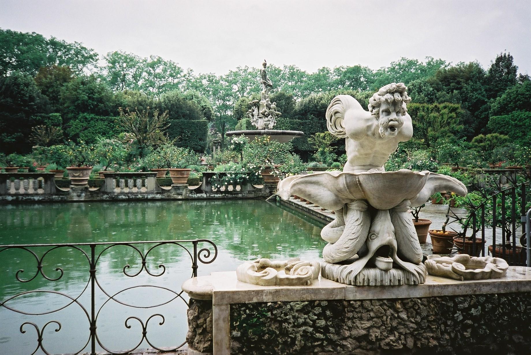 Los Jardines Boboli de Florencia