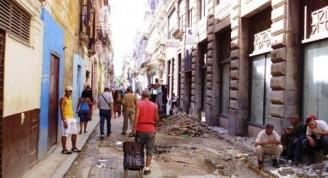 4-Calle Habana, trab. redes y pavimentación
