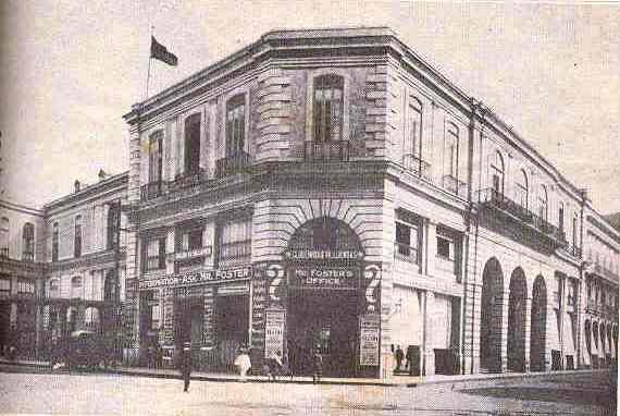 Antes de su demolición en la década de 1950