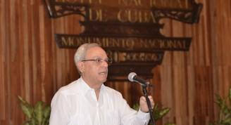 Actividad de Artistas e Intelectuales por la jornada de la Cultura Cubana en el Hotel Nacional de Cuba