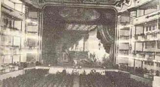 Interior del edificio antiguo