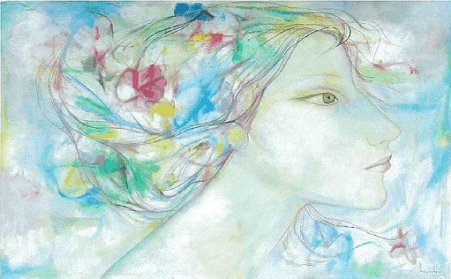 Obra de Servando Cabrera, uno de los artistas incluidos en la subasta