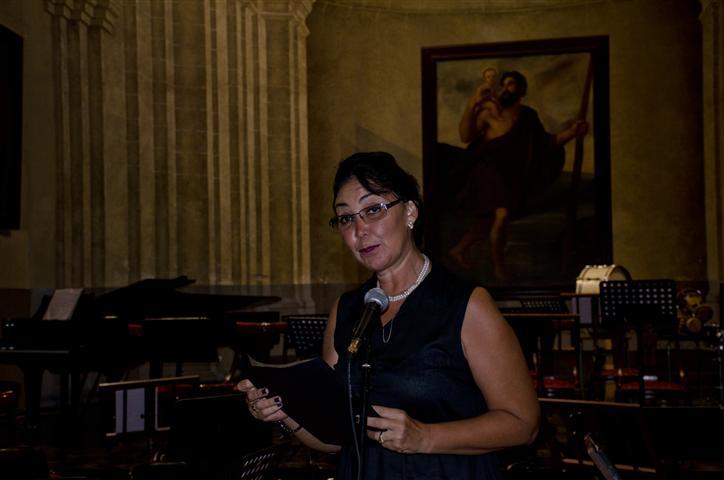 Norma Jiménez, una de las directoras de la Oficina del Historiador, leyó un mensaje enviado por el Doctor Eusebio Leal Spengler