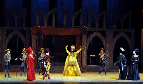 """""""Shakespeare y sus máscaras"""" en la inauguración del 24 Festival Internacional de Ballet de La Habana"""