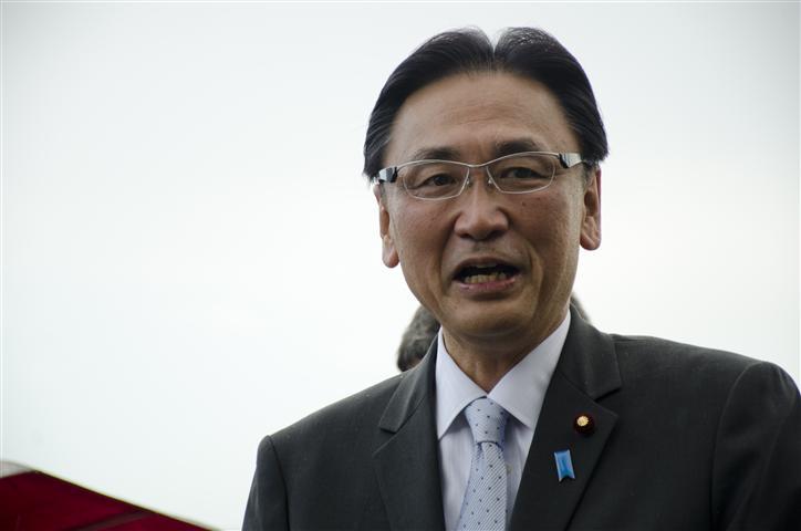 Keiji Furuya, presidente de la Liga Parlamentaria de Amistad Japón–Cuba.
