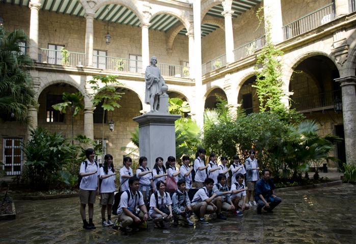 Patio del Palacio de los Capitanes Generales