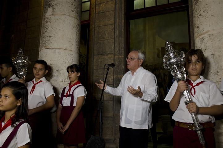 Palabras del Historiador en el acto por los 495 años de La Habana