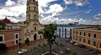 Iglesia La Merced y Plaza de los Trabajadores. Foto:Ismael Francisco/Cubadebate