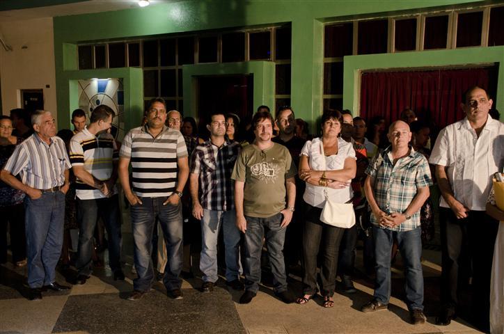 """Momentos de la inauguración de """"Se dice cubano"""" en Bayamo"""