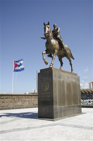 El Monumento restaurado / Foto Alexis Rodríguez