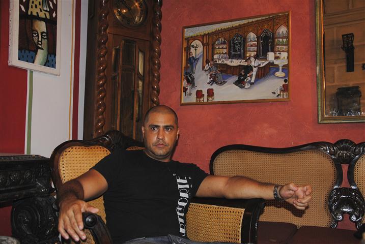 Gilberto Valladares (Papito), fundador de Arte Corte / Foto Alexis Rodríguez