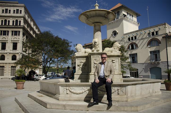 Jean-Paul de la Fuente, director de la Fundación N7W en La Habana / Foto Alexis Rodríguez - Habana Radio