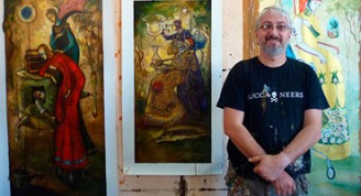 Pintor cubano Carlos Guzmán Foto: Oncubamagazine.com