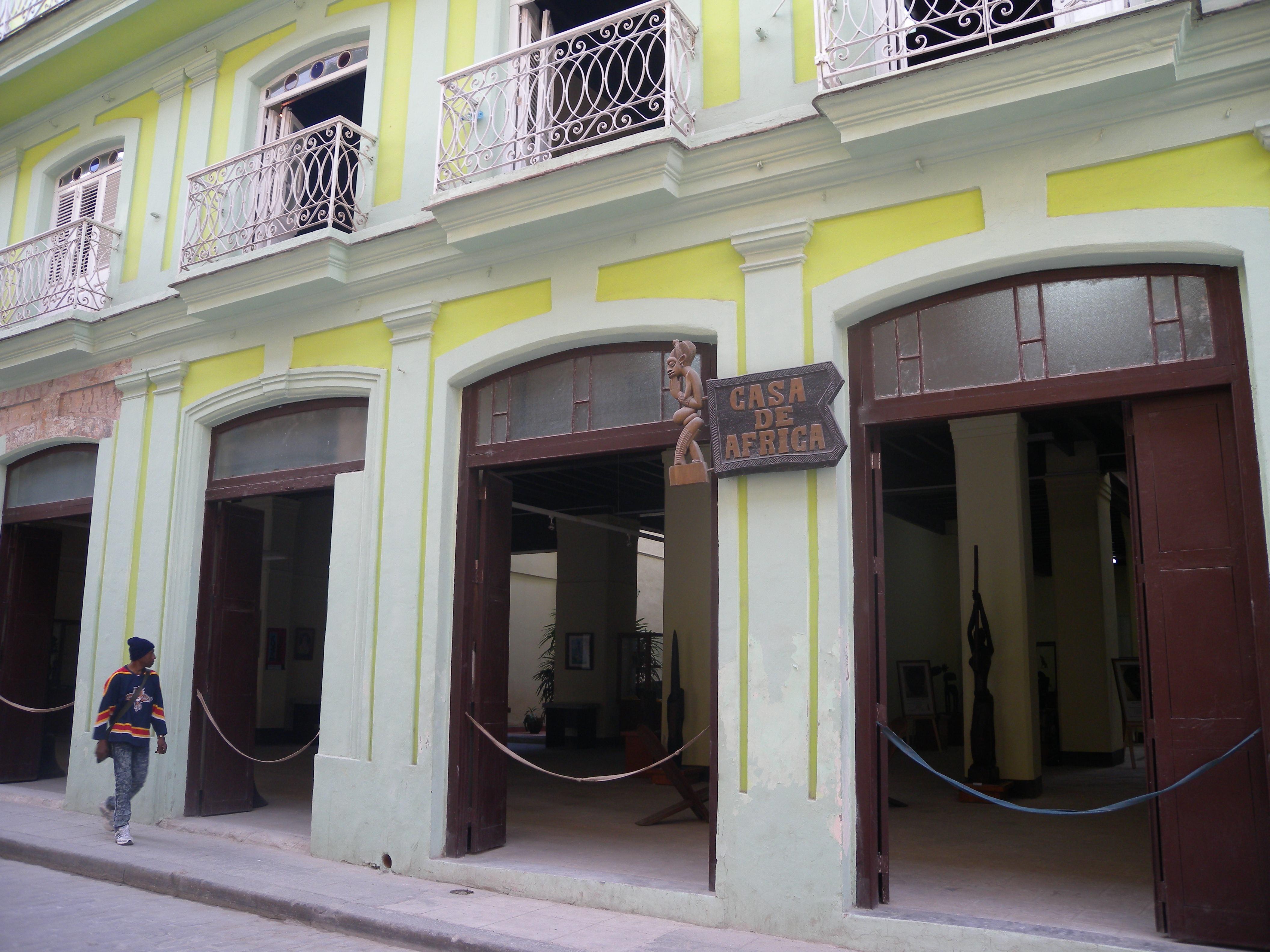 Casa de África, del Centro Histórico habanero