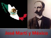 Jose Martí y Mexico