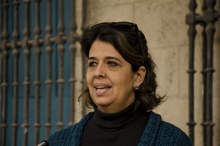 Lesbia Méndez, directora de Patrimonio Cultural de la Oficina del Historiador