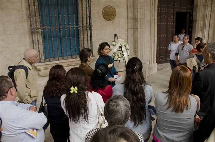 Trabajadores de la Oficina del Historiador rindieron homenaje al valeroso cubano