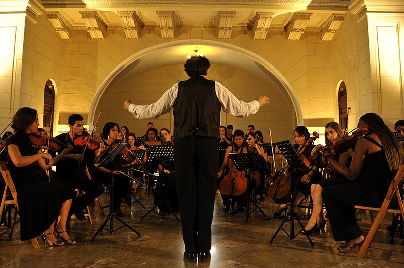 Walter Reiter en el Lyceum Mozartiano de La Habana / Foto Néstor Martí