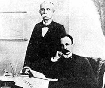 Máximo Gómez y José Martí