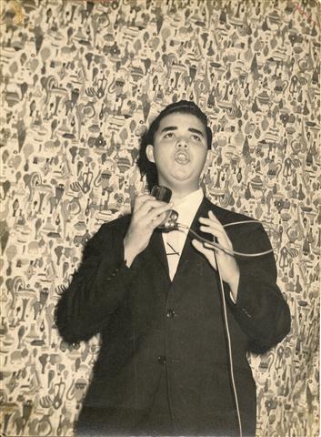 Primera actuación en Bayamo. 1963