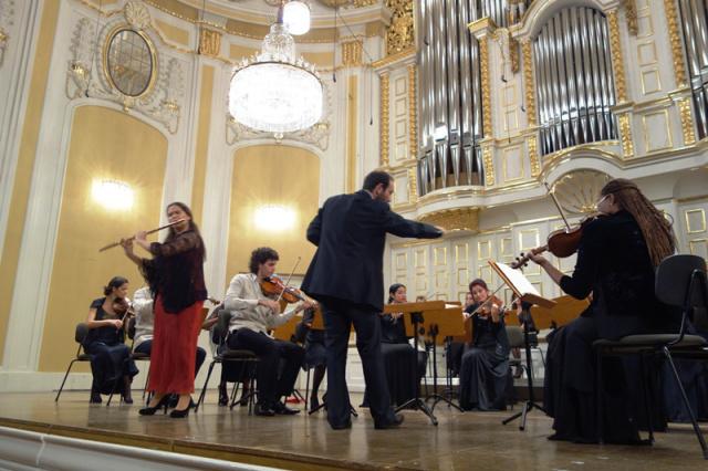 Concierto orquesta sinfonica ISA. Semana Mozart 2015