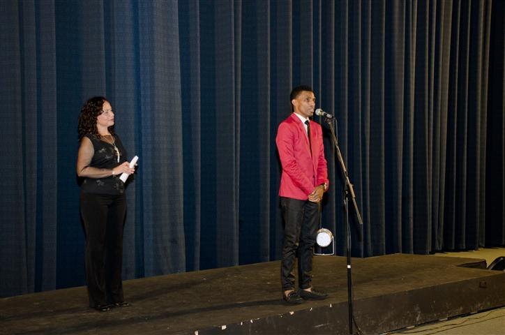 Momentos de la inauguración de la Semana de Cine Dominicano en el cine La Rampa