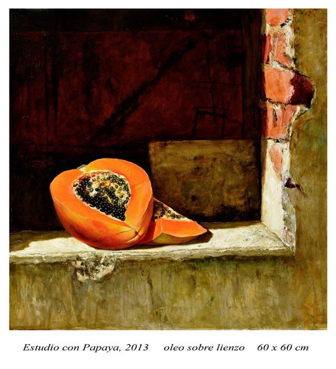 Estudio con papaya
