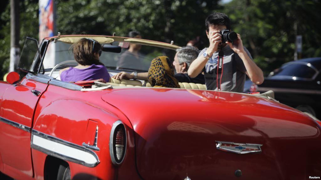 Turistas en La Habana 2