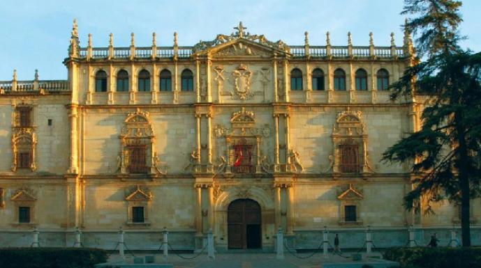 Universidad de Alcalá de Henares, España. Fundada en 1599.