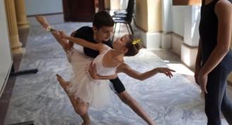 estudiantes de ballet