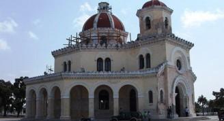 3-Capilla Central del Cementerio de colón, obras