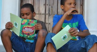 Fiesta del libro infantil en La Habana Vieja