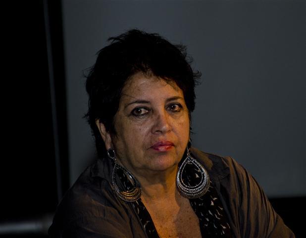 Isabel Bustos, directora de Retazos y fundadora del Festival / Fotos Alexis Rodríguez