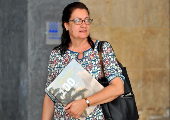 Corina Matamoros Tuma. Foto: Ladyrene Pérez/ Cubadebate.
