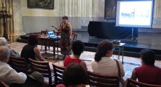 La arquitecta Mónica Moreira, asesora general de la BAQ