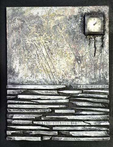 Tiempo perdido (2014 )collage 34x44cm webjpg (Small)