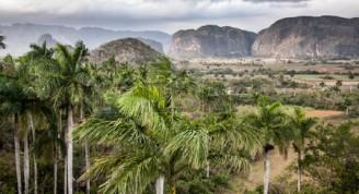 El valle de Viñales, sitio de Patrimonio Mundial de la UNESCO