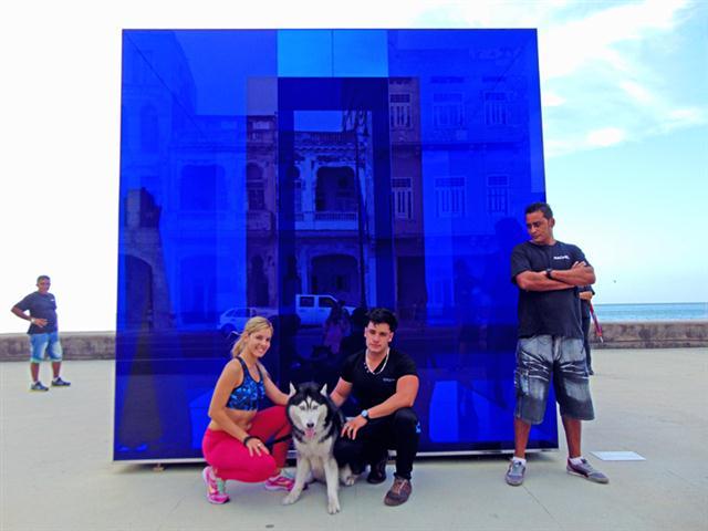 Cubo Azul, Rachel Valdéz
